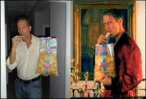 eat like an italian, amica chips, rocco siffredi,