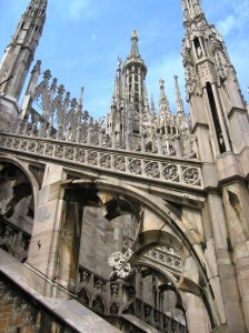the duomo of milan on ricks italy tour