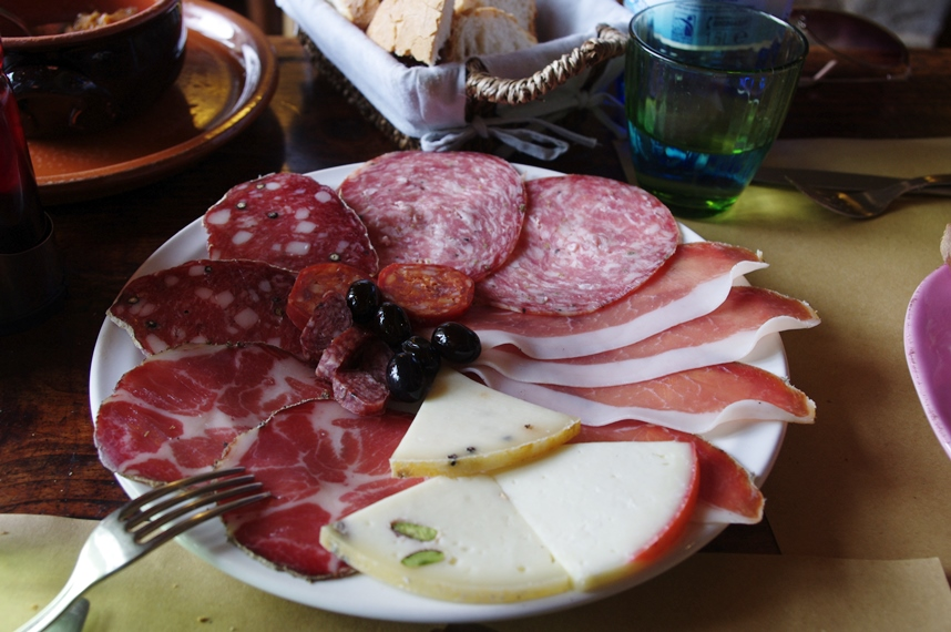 cured tuscan meats
