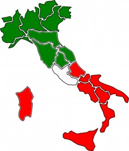 North versus South issues in Italy