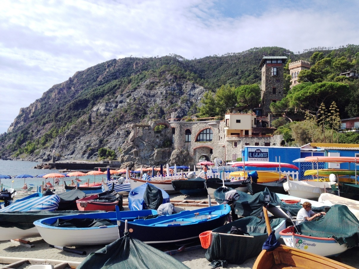 monterosso al mare is a favorite spring destinations in Italy